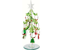 Tree - Green Leaf - with Wine Markers - 7.5 Inch - GB XM-616