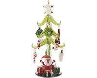 Tree - Green - Santa - 8 Inch - GB XM-626