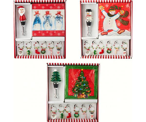 Hostess Set - Tree/Snowman/Santa XM-662