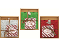 Hostess Set - Merry Holiday - 3 Assortment... XM-738