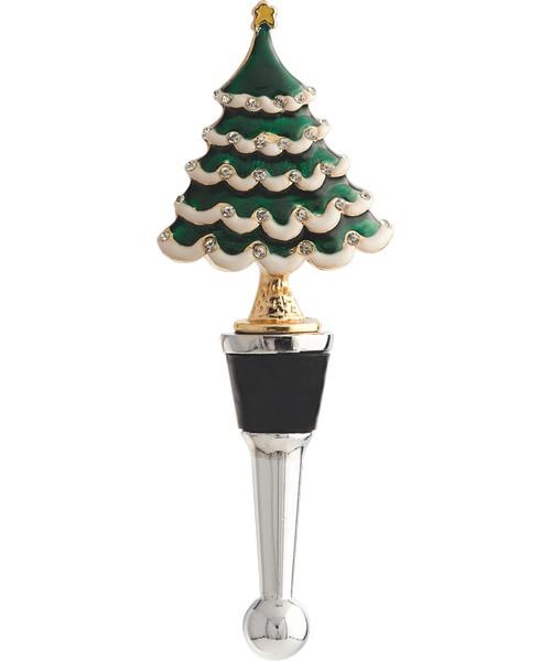 Christmas Tree Wine Bottle Stopper XM-923'