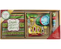 Hostess Set - Ornament Plate + Napkins + Spreader XM-985