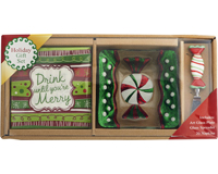 Hostess Set - Candy Dish + Napkins + Spreader XM-986