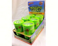 Murphy's Mosquito Candle Tabletop Display (12 pcs)-MSMD002TTD