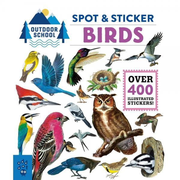 Outdoor School Spot & Sticker Birds