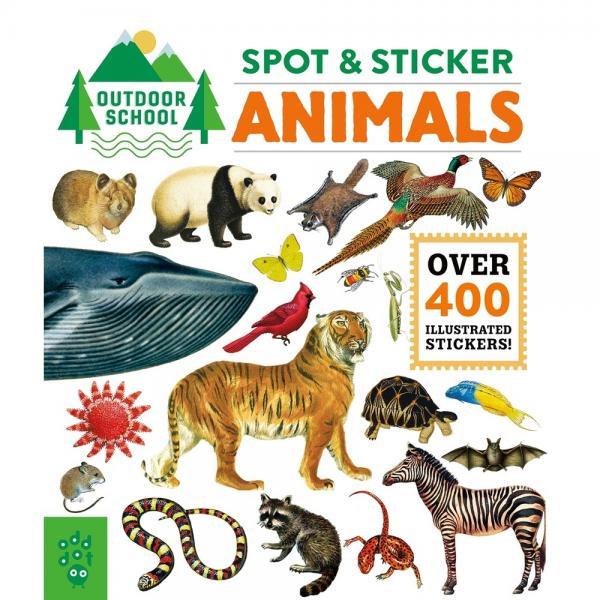 Outdoor School Spot & Sticker Animals