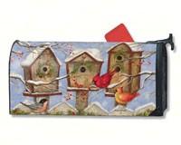 Christmas Bird House Mailwrap-MAIL01248