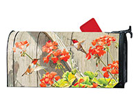 Hummingbirds with Geraniums MailWrap-MAIL01631