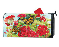 Red Geraniums MailWrap-MAIL01664