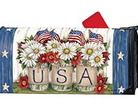 USA Mason Jar MailWrap-MAIL01682