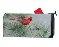 Winter Red Bird MailWrap-MAIL01770