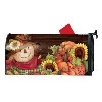 Autumn Scarecrow Mail Wrap-MAIL01965