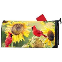 Sunflower Cardinal MailWrap-MAIL02155