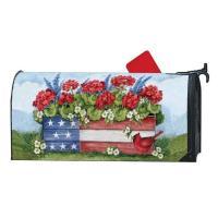 Patriotic Planter Box MailWrap-MAIL03098