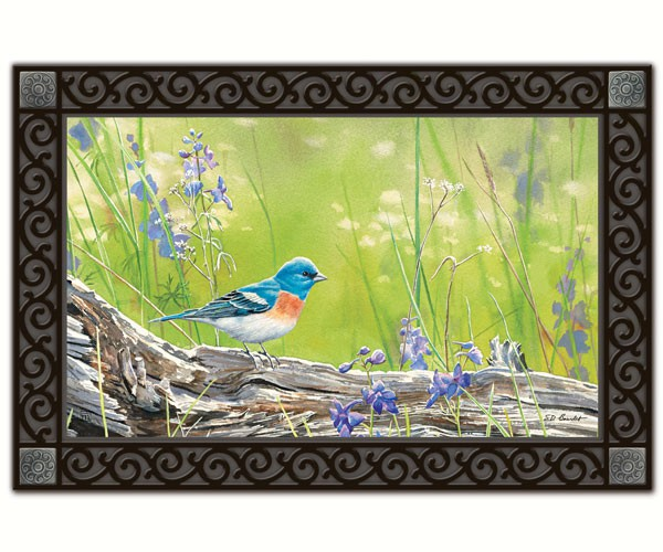 Meadow Bluebird Matmate