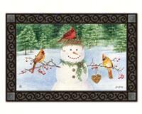 Snowman bird feeder Matmate-MAIL11374
