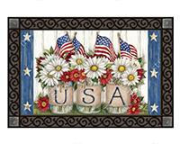 USA Mason Jar MatMate-MAIL11682