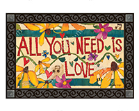 All you Need is Love MatMate-MAIL11726