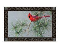 Winter Red Bird MatMates-MAIL11770