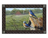 Summer Bluebirds MatMates-MAIL11808