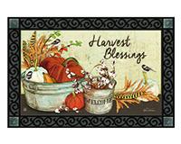 Farmhouse Pumpkins MatMate-MAIL11932