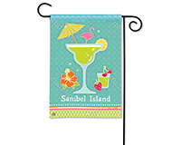 Cocktail Time Garden Flag-MAIL31709D