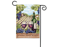 From Vineyard to Bottle Garden Flag-MAIL31725D