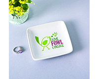 Fowl Language Trinket Dish-MAILBN6002