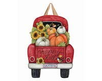 Pumpkin Delivery Door Decor-MAILDD1964