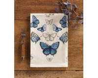 Eastern Tailed-Blue Butterfly Towel-MAILFG2006
