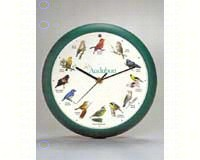 Audubon Singing Clock 8 in Green-MFAUD8