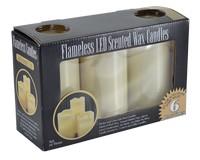 3 Piece LED Vanilla Candle Gift Box Set MFB456MT