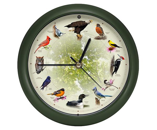 20th Anniversary 8 inch Bird Clock