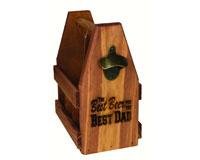 Wood Beverage Caddy Best Beer MFBVCADBESTDAD