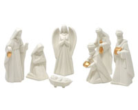 Ceramic 7 pc Nativity Set-MFBX15484