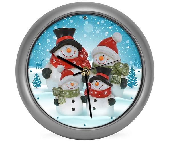 Snow Family Generation II Clock