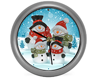 Snow Family Generation II Clock-MFCLK8SFS