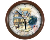 All Aboard for Christmas Clock-MFCLK8TKAAFC