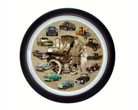 Ford Truck 100th Anniversary 13 inch Sound Clock Grill Center-MFFTH13