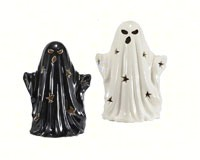 Ceramic LED Color Changing Ghost  MFGBH1719A