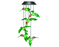 Solar Painted Hummingbird Mobile-MFHBPTDMOB