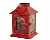 December Dawn Cardinal Lantern MFLNTWWCD