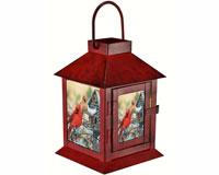 Rustic Cardinals Lantern-MFLNTWWRC