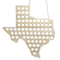Beer Bottle Cap Map Texas-MFMBBCTX