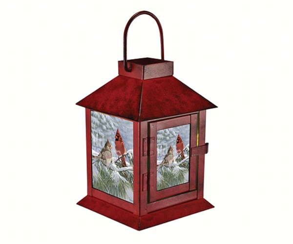 LED Coach Lantern Winter Light with Timer MFNWWMHWL'