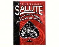 Single Deck Poker Cards-SALUTE16107