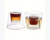 4 oz Bomber Cups - Clear Soft Plastic 20 ct-NWEN0422
