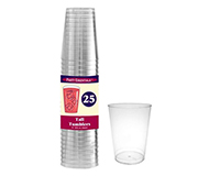 10 oz Tumblers Clear 25 ct-NWEN102521