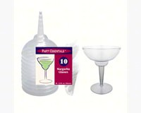 2 pc 12 oz Margarita Glasses Clear 10 ct-NWEN121021