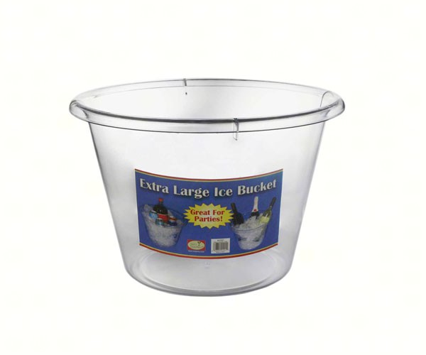 X Large Ice Bucket Clear